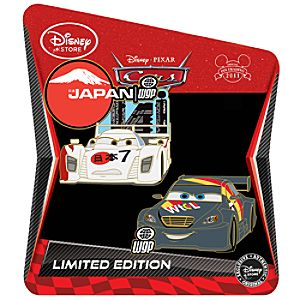 Cars 2 Pin Set -- Shu Todoroki and Max Schnell