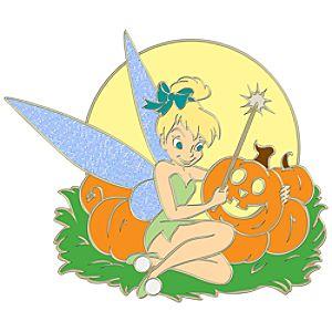 Halloween Tinker Bell Pin