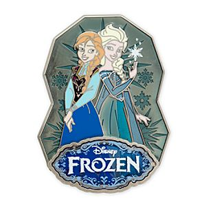 Anna and Elsa Limited Edition Pin - Frozen