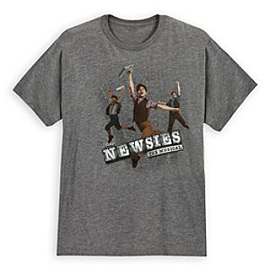 Disney on Broadway: Newsies The Musical Tee for Adults