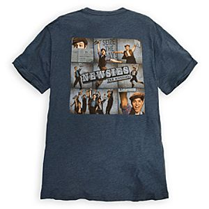 Newsies: The Broadway Musical Tee for Adults