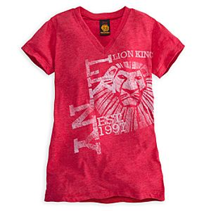 The Lion King: The Broadway Musical Tee for Women