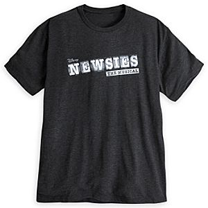 Newsies: The Broadway Musical Logo Tee for Adults