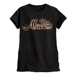Aladdin the Musical - Logo Tee for Women