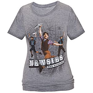 Disney on Broadway: Newsies The Musical Tee for Girls