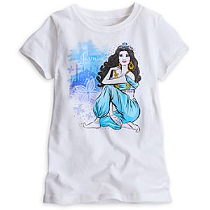 Jasmine Tee for Girls - Aladdin the Musical
