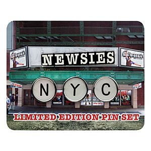 Newsies: The Broadway Musical Limited Edition Pin Set