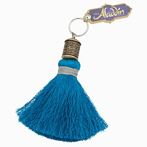 Aladdin the Musical Tassel Keychain - Turquoise