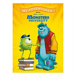 Monsters University My Adventures Personalized Book - Standard Format