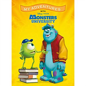 Monsters University My Adventures Personalized Book - Large Format