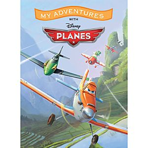 Planes My Adventures Personalized Book - Standard Format