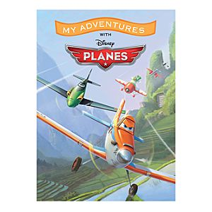 Planes My Adventures Personalized Book - Large Format