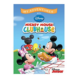 Mickey Mouse Clubhouse My Adventures Personalized Book - Standard Format