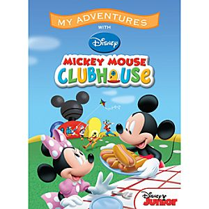 Mickey Mouse Clubhouse My Adventures Personalized Book - Large Format