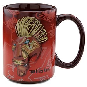 The Lion King: The Broadway Musical Scar Mug