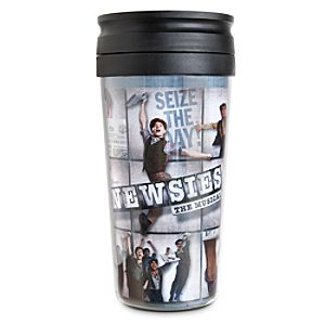 Disney on Broadway: Newsies The Musical Travel Mug