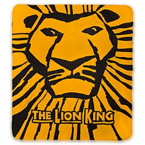 The Lion King: The Broadway Musical Fleece Throw