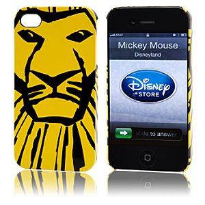 Simba iPhone 4 and 4S Case - The Lion King The Broadway Musical