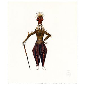 Scar Giclée - The Lion King: The Broadway Musical