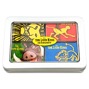The Lion King: The Broadway Musical Magnet Set