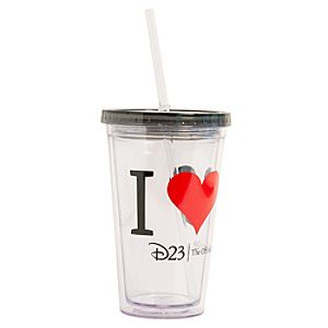 Mickey Mouse I ? Mickey Tumbler with Straw - D23