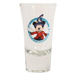 Sorcerer Mickey Mini Glass - D23