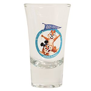 Chip n Dale Mini Glass - D23