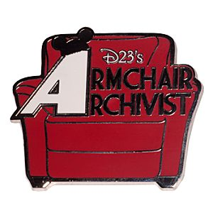 D23s Armchair Archivist Pin