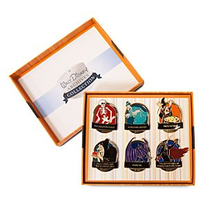 Walt Disney Archives A Halloween Treat Pin Set - D23