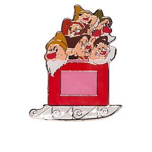 The Seven Dwarfs Holiday Sleigh Pin - D23