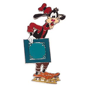Goofy Holiday Sleigh Pin - D23