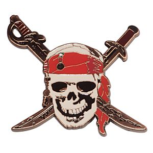 Pirates of the Caribbean: Curse of the Black Pearl Pin - D23