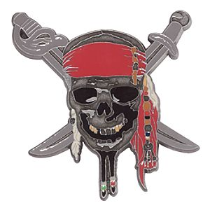 Pirates of the Caribbean: On Stranger Tides Pin - D23