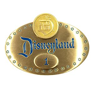 Walt Disney Disneyland Badge Pin - D23