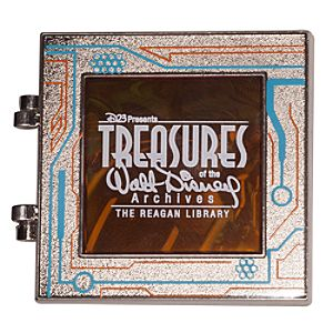 Tron Pin - Treasures of the Walt Disney Archives - D23