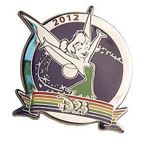 Tinker Bell Rainbow Pin - D23