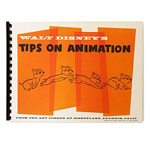Walt Disneys Tips on Animation Book - D23