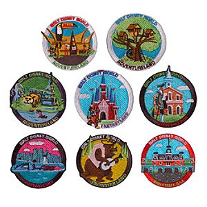 Walt Disney World 1970 Patch Set - D23