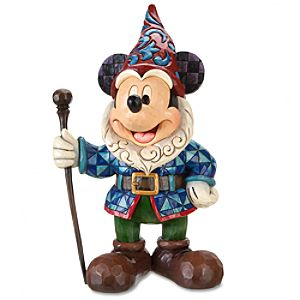 Garden Gnome Mickey Mouse Statue by Jim Shore