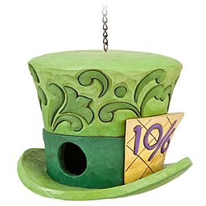 Alice in Wonderland Mad Hatter Birdhouse by Jim Shore