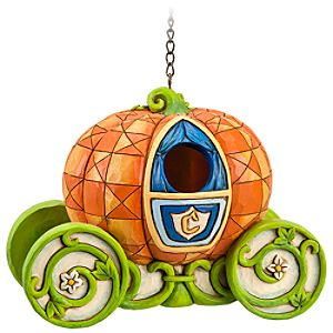 Pumpkin Coach Cinderella Birdhouse by Jim Shore