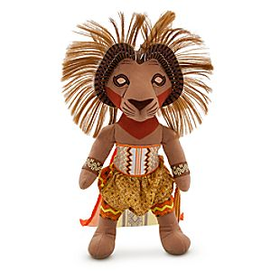 The Lion King: The Broadway Musical Simba Plush -- 20 H