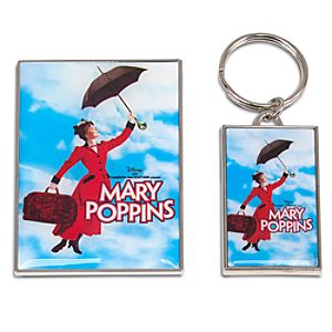 Mary Poppins: The Broadway Musical Keychain and Magnet Set -- 2-Pc.