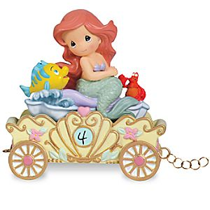 Ariel Make a Splash on Your Birthday Fourth Birthday Figurine by Precious Moments