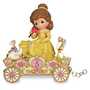 """A Beauty to Behold at Five Years Old"" Fifth Birthday Belle Figurine by Precious Moments"