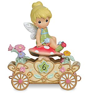 "Tinker Bell ""Have a Fairy Happy Birthday"" Sixth Birthday Figurine by Precious Moments"