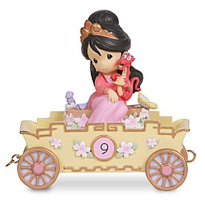 Nine is Divine Ninth Birthday Mulan Figurine by Precious Moments