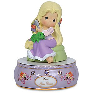 Live Your Dream Musical Rapunzel Figurine by Precious Moments