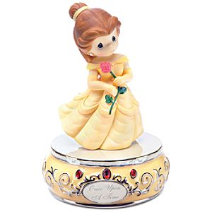 Once Upon a Time Musical Belle Figurine by Precious Moments