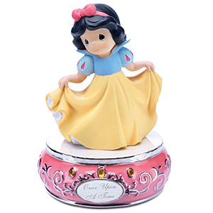 Once Upon a Time Musical Snow White Figurine by Precious Moments